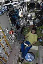 PK3 on board the ISS