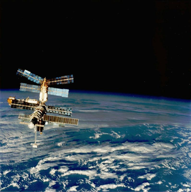 ussr launches mir space station - photo #21